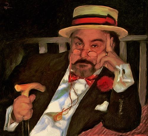 Self Portrait In Boater Hat