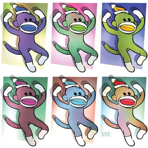 Six Variations On a Sock Monkey