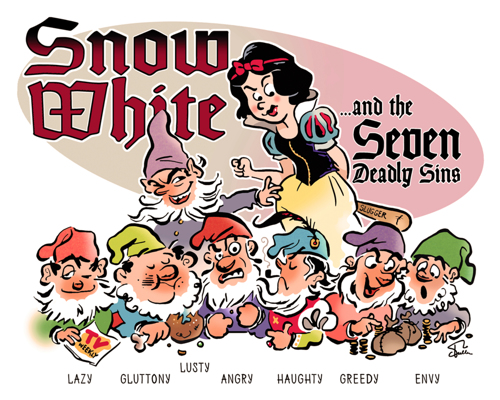 Snow White and the Seven Deadly Sins