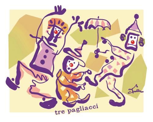 Tre Pagliacci