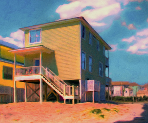 The Beach House by Van Evan Fuller