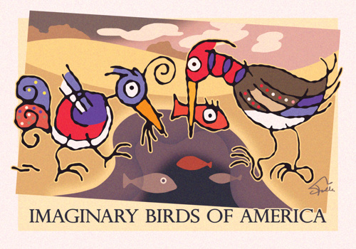 Imaginary Birds of America