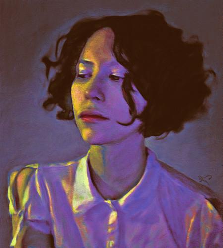 Portrait of Lucasta
