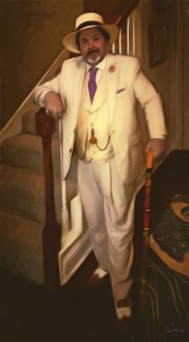 Self Portrait, The Ice Cream Suit