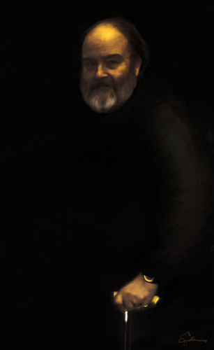 Portrait of the Artist In the Style of Rembrandt