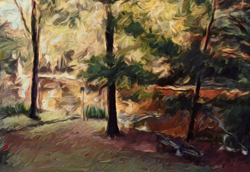 Studio View of Elm Lake