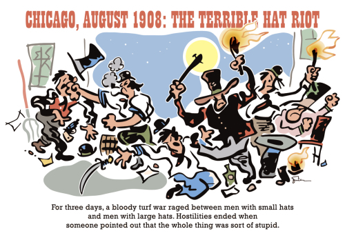 Chicago Hat Riot