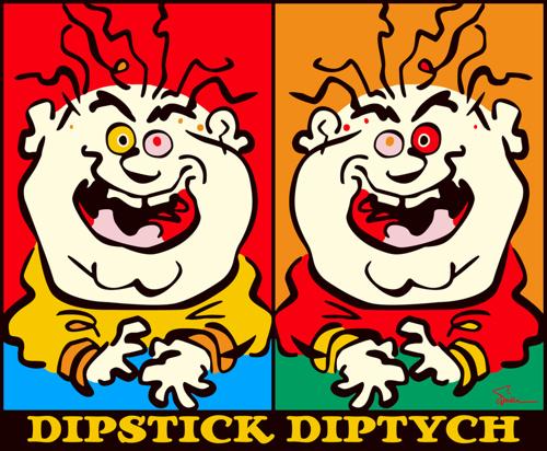 Dipstick Diptych