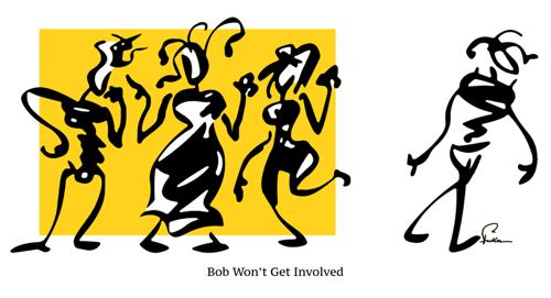 Bob Won't Get Involved