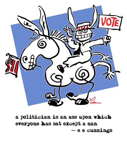 A Politician Is An Ass