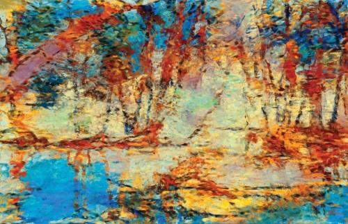 Trees Along a Bayou