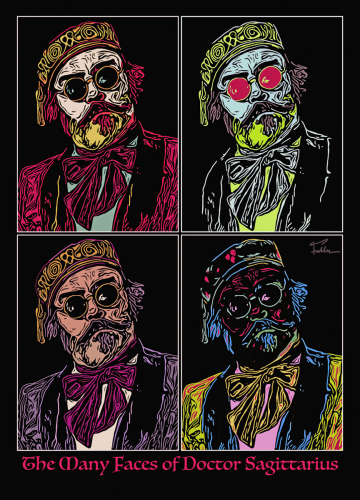 The Many Faces of Doctor Sagittarius