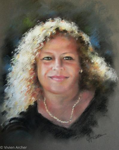Lisa by Vivien Archer Fine art