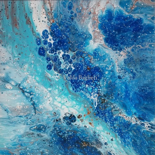 Celestial Blue Sparkle