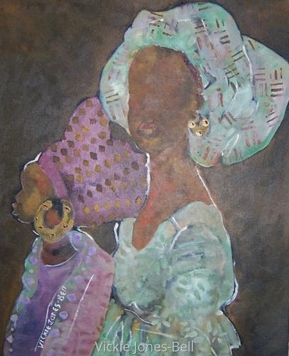 Tribal Sisters by Vickie Jones-Bell