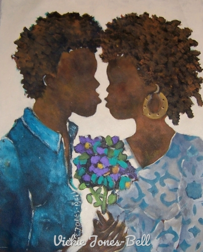 Young Love by Vickie Jones-Bell