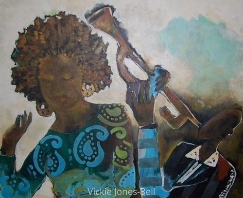 Sweet Blues by Vickie Jones-Bell