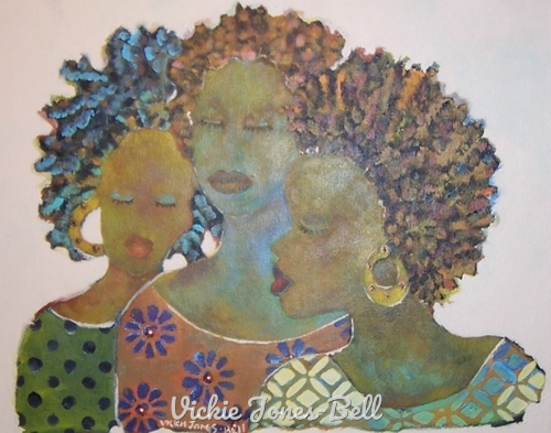 Sista's of Color by Vickie Jones-Bell