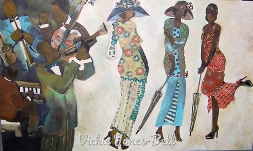 Flapper Funk Jazz by Vickie Jones-Bell
