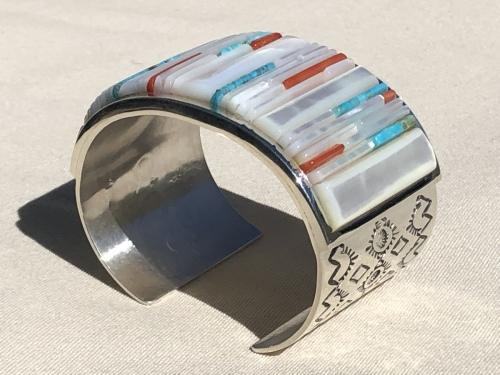 Cuff bracelet  by Veronica Benally