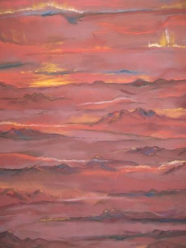 Cinnabar Sunset