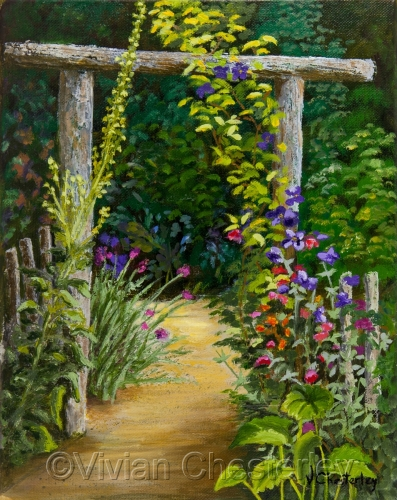 Path for Birds and Butterflies by Vivian Chesterley