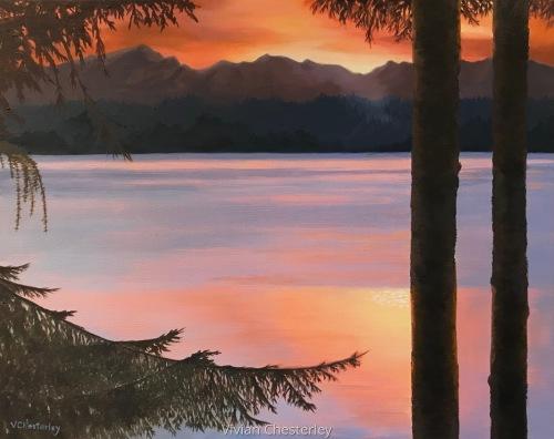 Northwest Sunrise by Vivian Chesterley