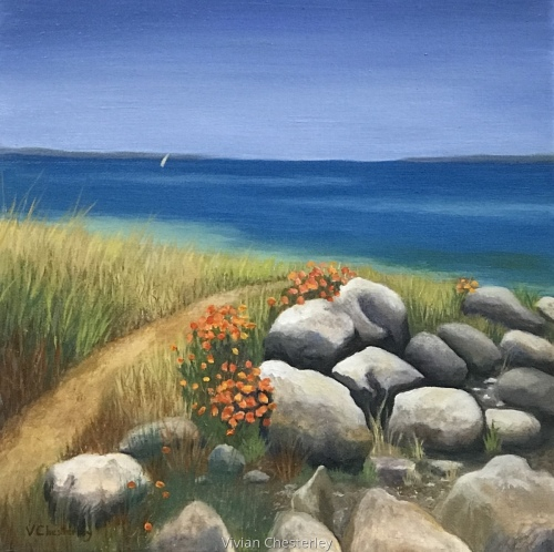 Path to the Beach by Vivian Chesterley