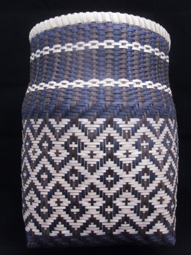 Planed maple storage basket