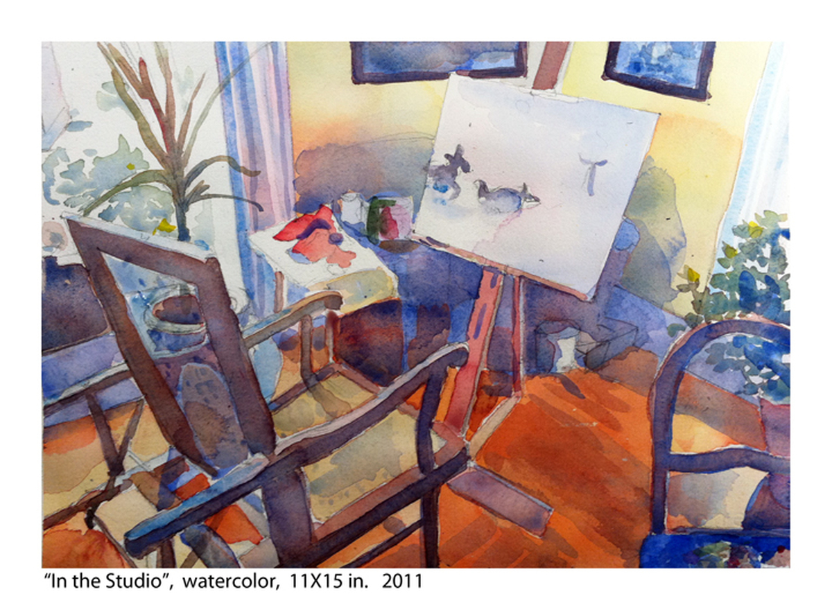 """""""In the Studio"""" (large view)"""