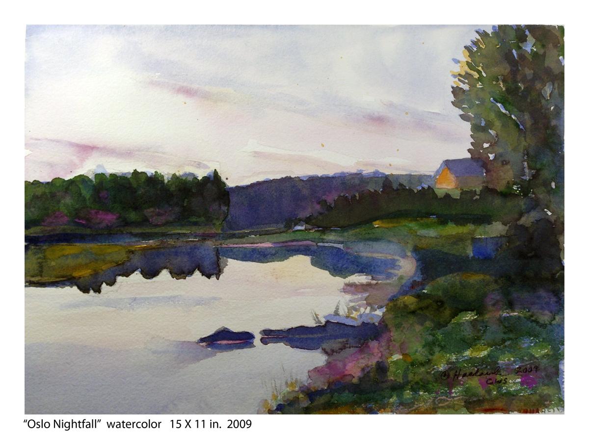 """Oslo Nightfall"" (large view)"