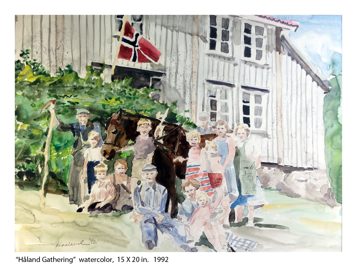 """Håland Gathering"" (large view)"