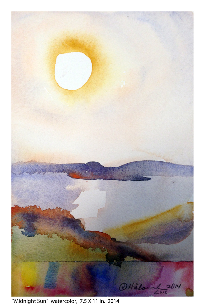 """Midnight Sun"" (large view)"