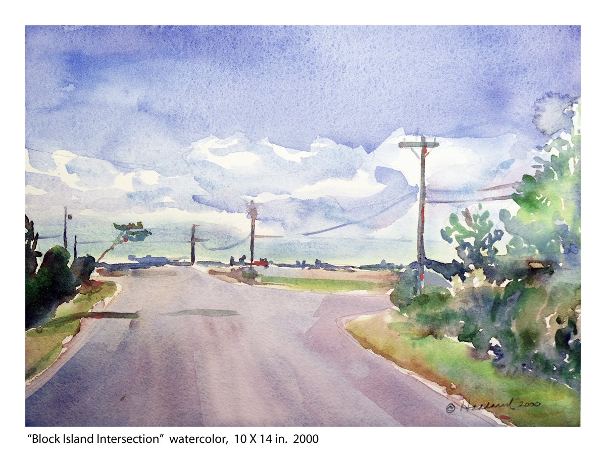 Block Island Intersection (large view)