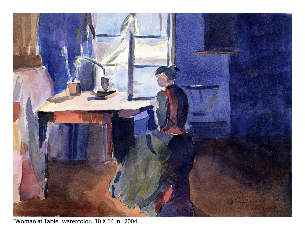 Woman at the Table (large view)