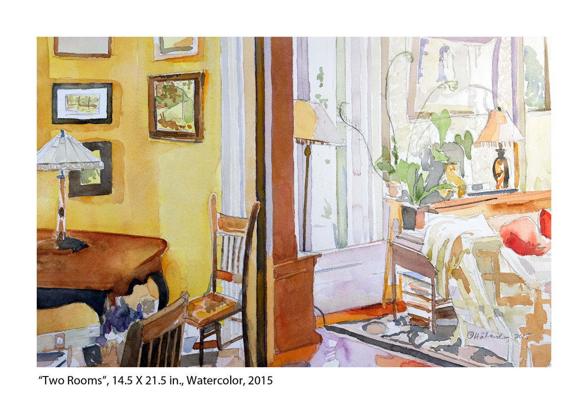 """""""Two Rooms"""" (large view)"""