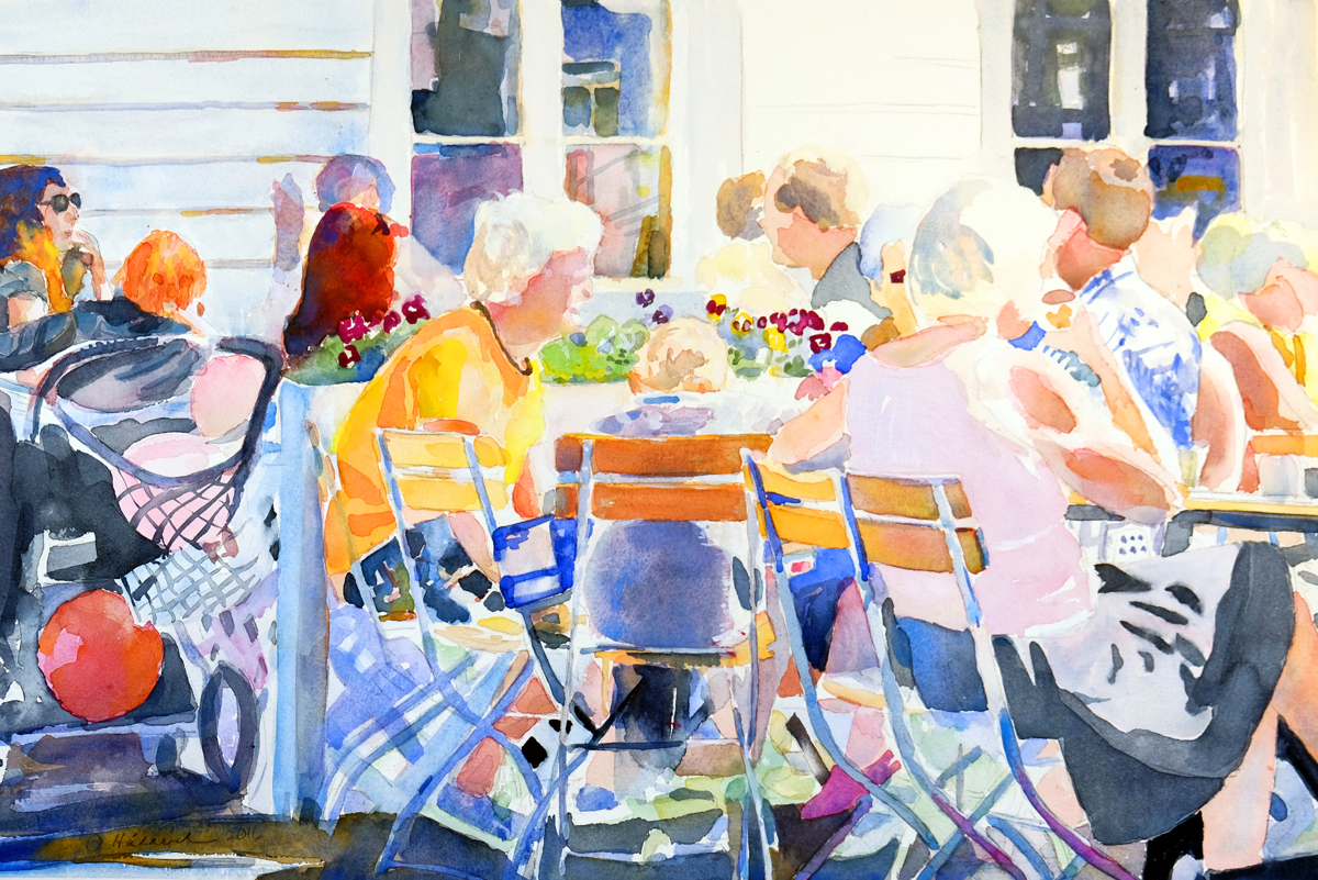 Cafe Chatter (large view)