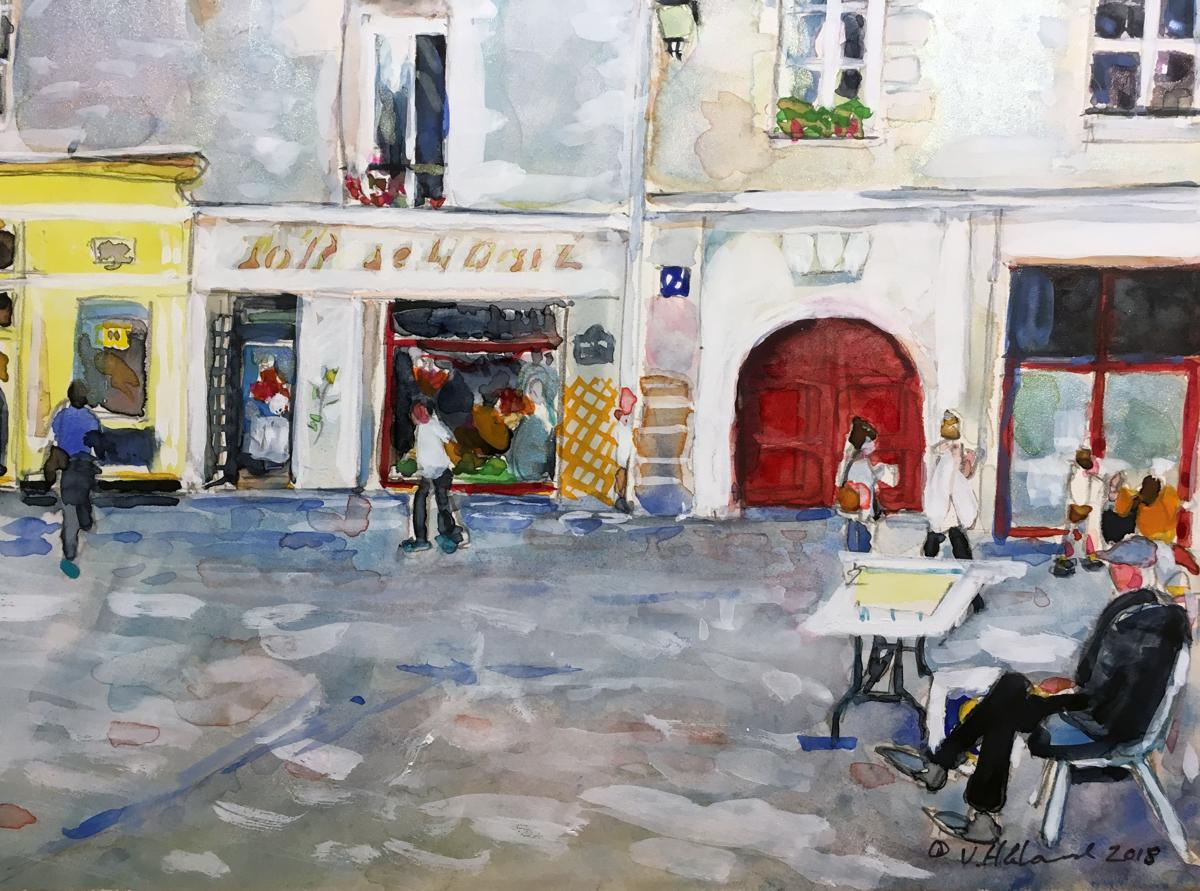 Paris Street Scene (large view)