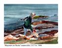Maureen on the Rocks (thumbnail)