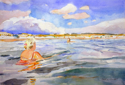 Two Swimmers (thumbnail)
