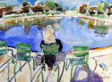 Reflection Pool Paris (thumbnail)