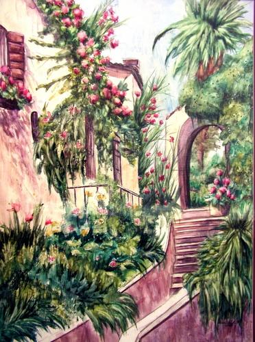 Spanish Garden Entrance