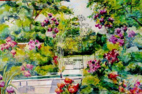 Westbury Garden Gate