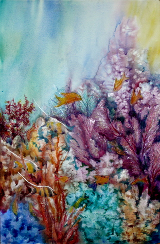 Underwater Coral and Fish 1