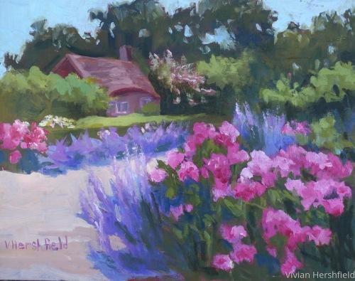 Planitng Field Arboretum  by Vivian Hershfield