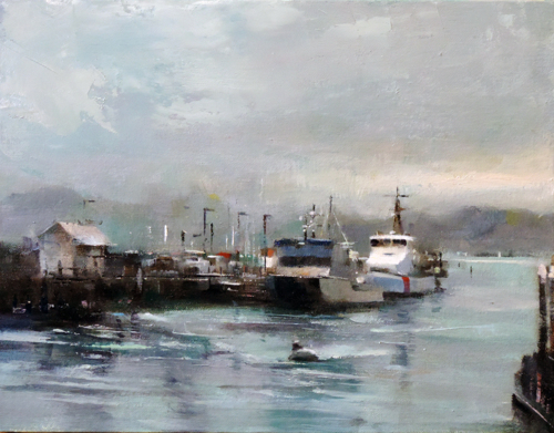 Morning at Monterey Harbor