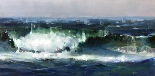 Waves at Half Moon Bay