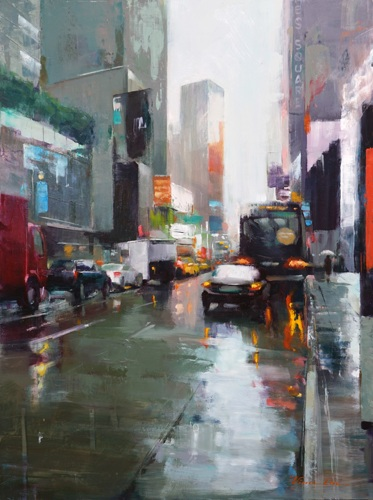 Toward Times Square