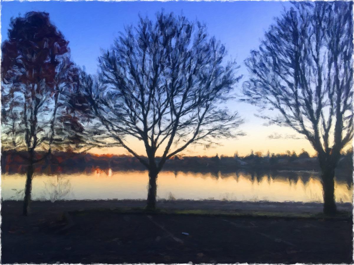 Greenlake Dawn (large view)
