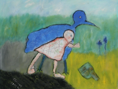 I Have Always Been Looking for the Blue bird tha tDiappeared with My Childhood